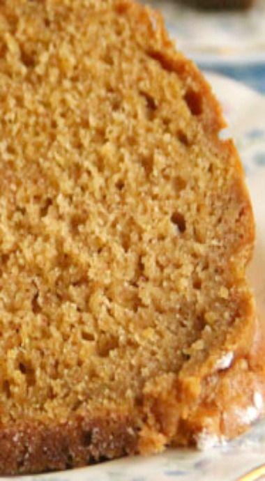 Spiced Pumpkin Bundt Cake