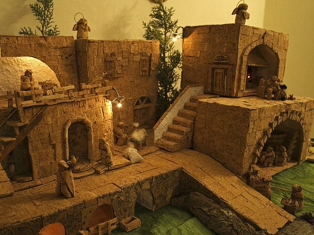Villaggio - Presepe in sughero | Flickr - Photo Sharing!