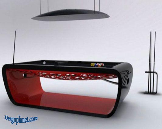 billiards table design