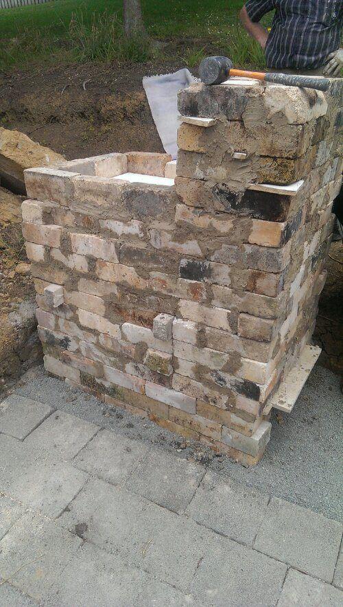Kiln we made for soda firing