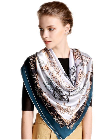 Cashmere Silk Scarf - Eternal Silk Scarf by VIDA VIDA