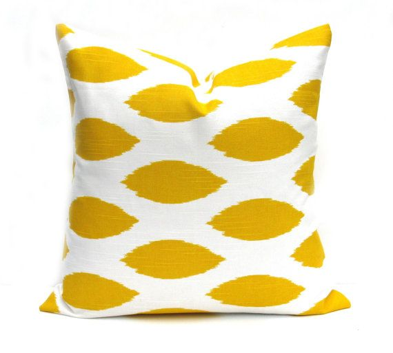 YELLOW PILLOW, Yellow pillow cover, decorative Pillow , throw pillow cover, accent pillow, Yellow cushion cover, pillows, throw pillows