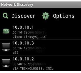 Network Discovery (for Android)