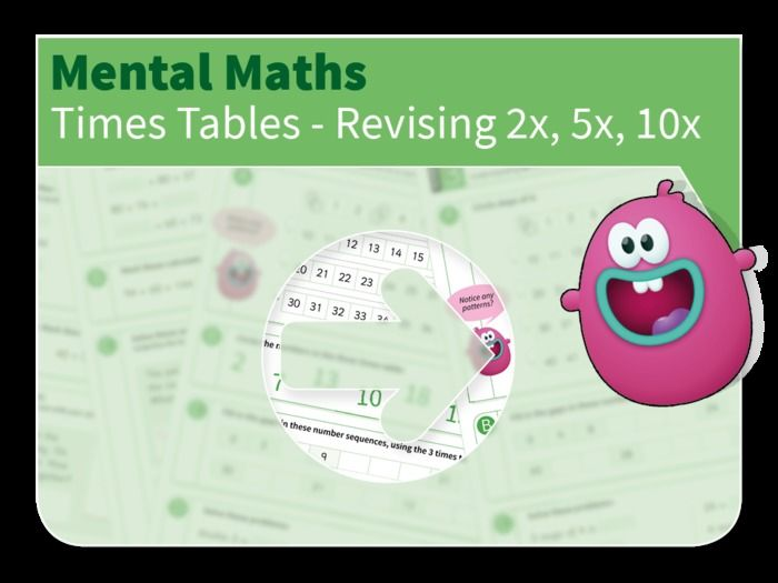 Times Table Mastery - Revising the 2, 5 and 10 times table by tesNumber-resources - Teaching Resources - TES