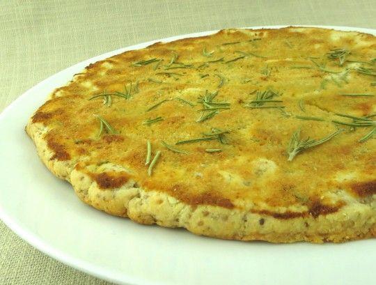 Paleo Parmesan Focaccia Bread