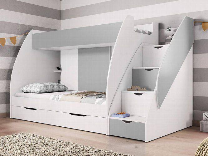 Hochbett Martin Modern Kinderzimmer Doppel Stockbett Etagenbett