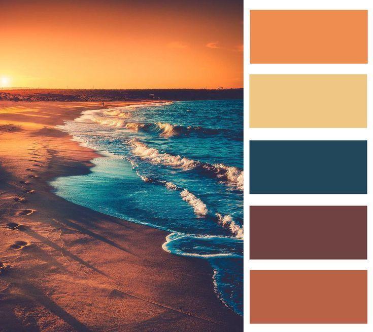 Color Palette In 2020 Color Palette Bright Rustic Color Palettes Retro Color Palette