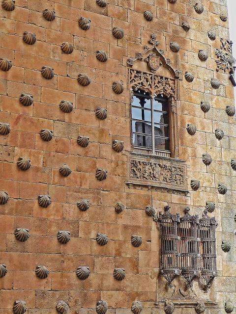 House of Shells façade, Salamanca, Spain