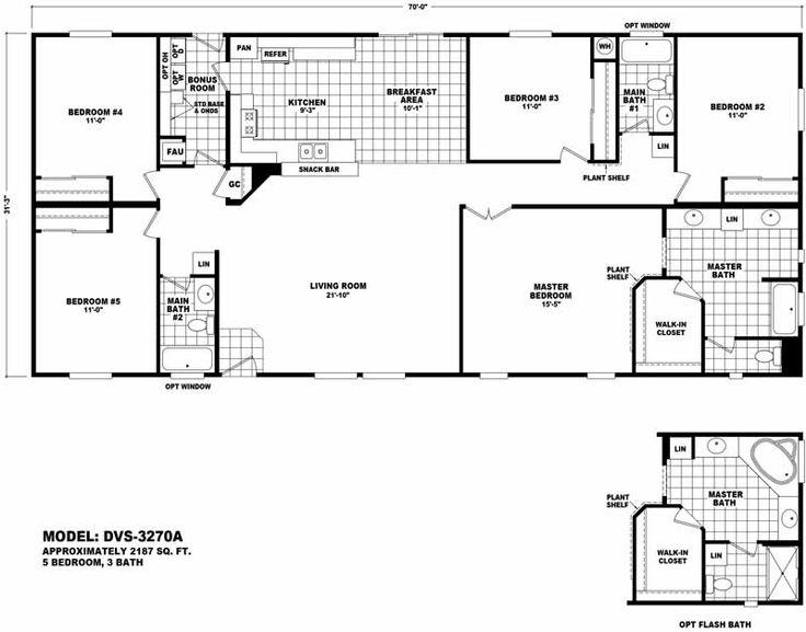 manufactured modular home floor plans