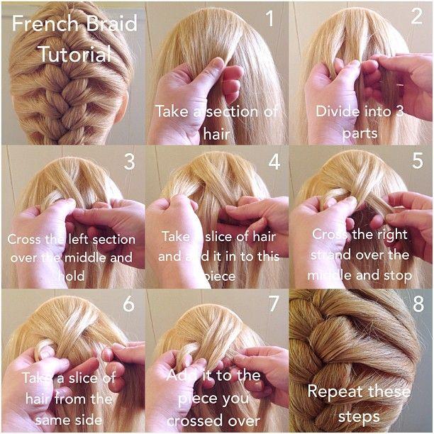 Learn to French Braid: abellasbraids.com