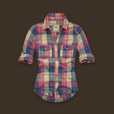 I bought this shirt 3 years ago....I lost it. RIP PLAID. i miss you