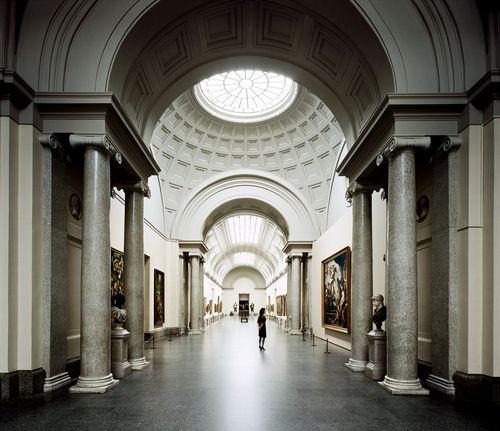 Arches,Columns,dones, vaults,magnificance (Museo del Prado, Madrid, Spain)