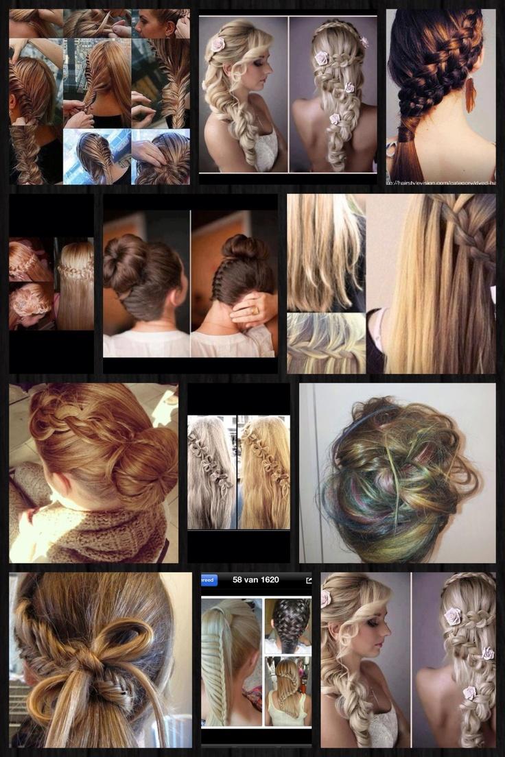 Verschillende haarstijlen