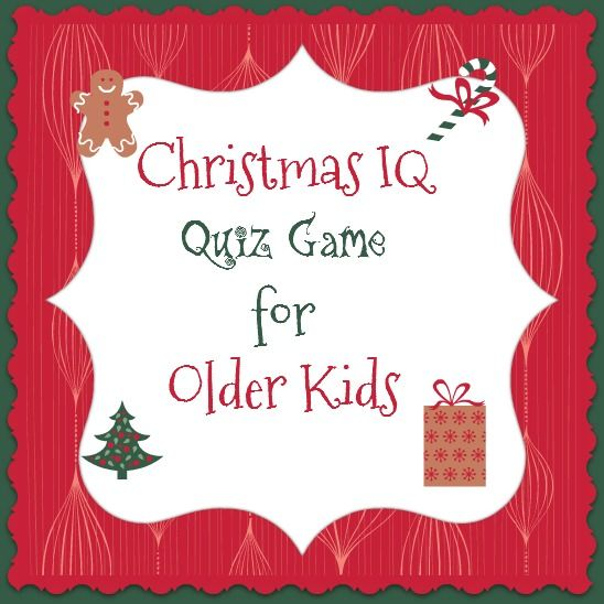 Bible Lessons for Kids: Christmas IQ Quiz Game for Older Kids