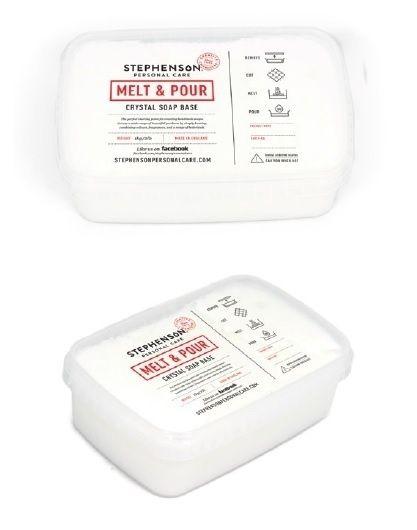 Glycerinezeep - gietzeep - Geitenmelk zeep - Crystal MI - GGB10