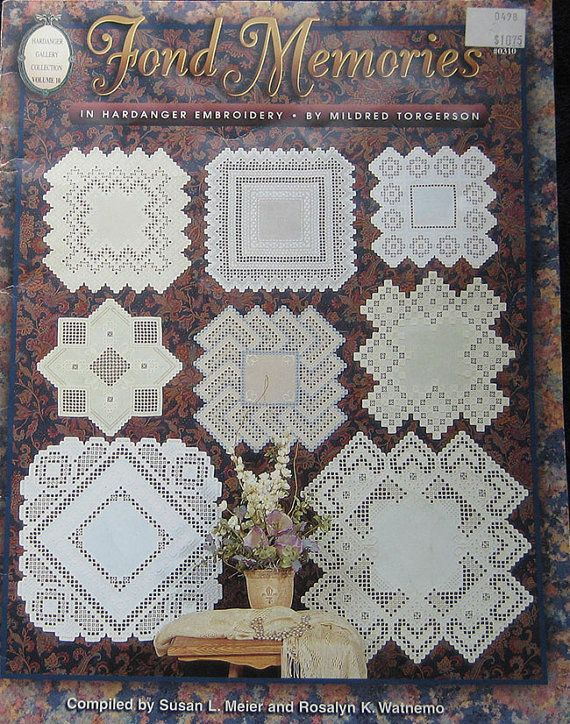 Fond Memories In Hardanger Embroidery Pattern by TheHowlingHag, $9.95
