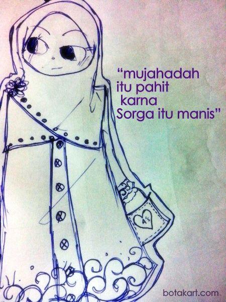 ciri pribadi muslim:berjihad mlawan nafsu. >.