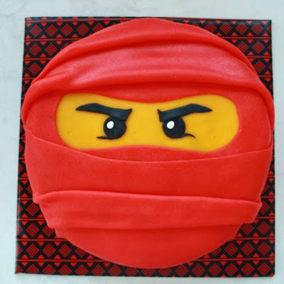 Lego ninjago taart More
