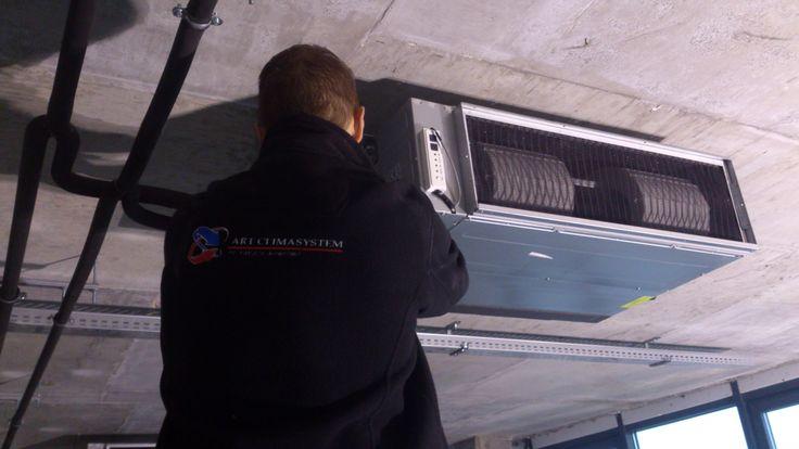 Klimatyzacja w biurze - montażu