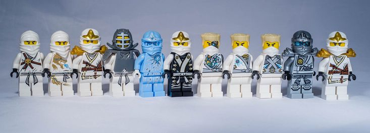 Lego Ninjago Zane Minifigures unitl 2015 | Lego Ninjago. All… | Flickr