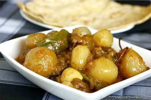Dopiaza (Indian Onion Curry Recipe) Recipe