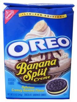 Limited Edition Oreo Banana Split Creme