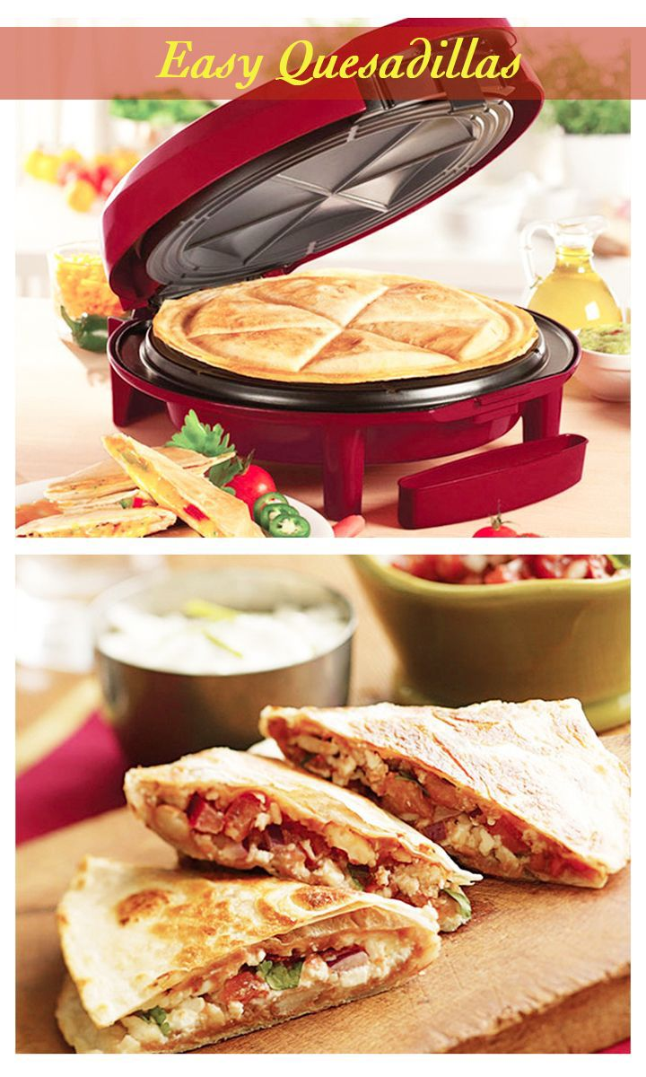 Your own slice of quesadillas in the comfort of your home!