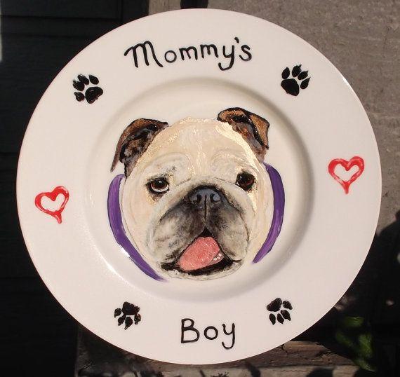 958 best Bulldog Art - 1 images on Pinterest | Acrylic nail designs ...