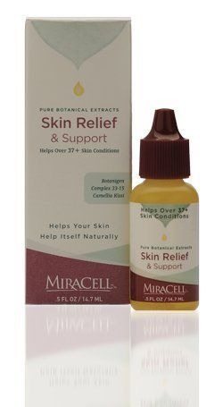 MiraCell Mira Cell Skin Relief and Support .5 fl oz by MiraCell. Save 22 Off!. $12.48. Vitamin A Palmitate - stimulates new cell growth. Camellia Kissi - calms, soothes. Instantly improves the way skin looks and feels.. Avocado - ultimate moisturizer. Apricot Kernel Oil - strengthens, moisturizes, & softens skin.. Keep your skin healthy and beautiful with Skin Relief and Support. Formerly MiraCell 37+.  Safe, gentle and natural, MiraCell gives your skin full strength nutritive...
