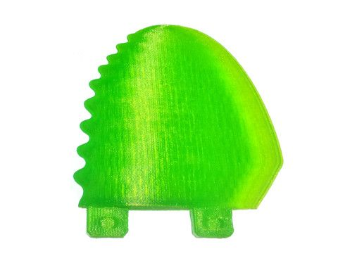 A trailing fin for a thruster? This one will blow the mind of your favorite surfer!