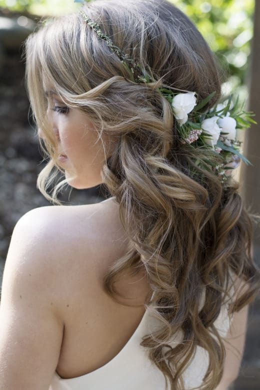 Marvelous 1000 Ideas About Rustic Wedding Hairstyles On Pinterest Country Short Hairstyles For Black Women Fulllsitofus