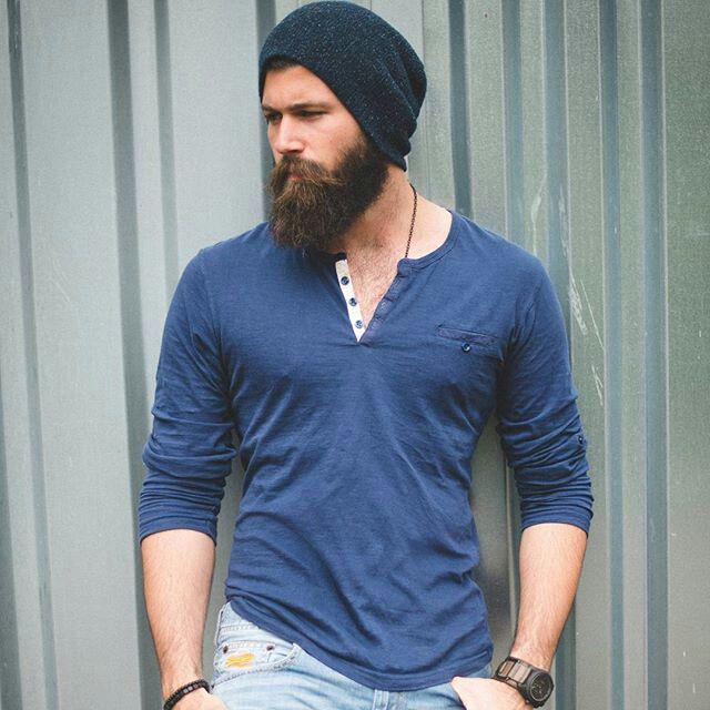 Love the beard and style
