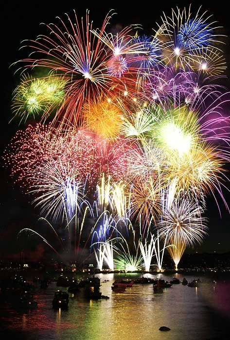 Especially when the fireworks look as pretty as this like a bouquet of flowers! #KoboContest