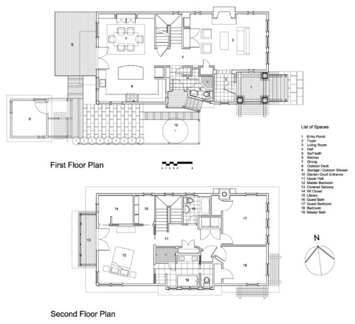feng shui floor plans eclectic by richard bubnowski design llc - Plan Maison Ideale Feng Shui