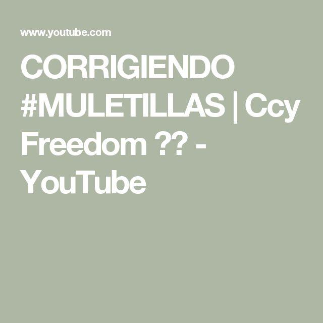 CORRIGIENDO #MULETILLAS   Ccy Freedom ❤️ - YouTube