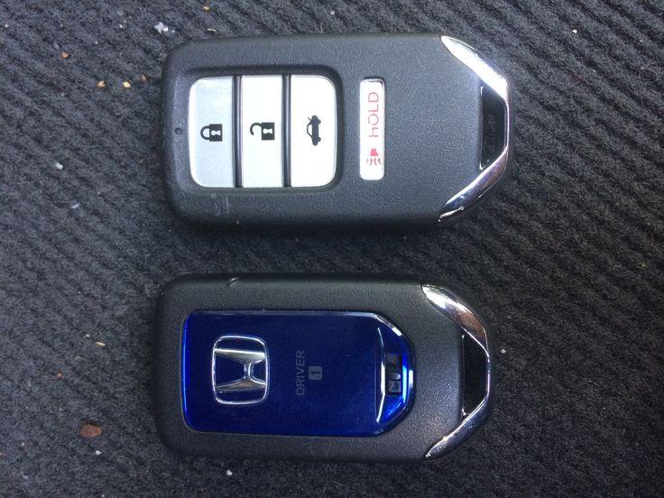 Honda Accord 2012 PROX fob and emergency key