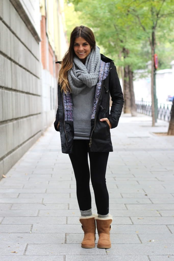 UGG Snow Boots Outfit