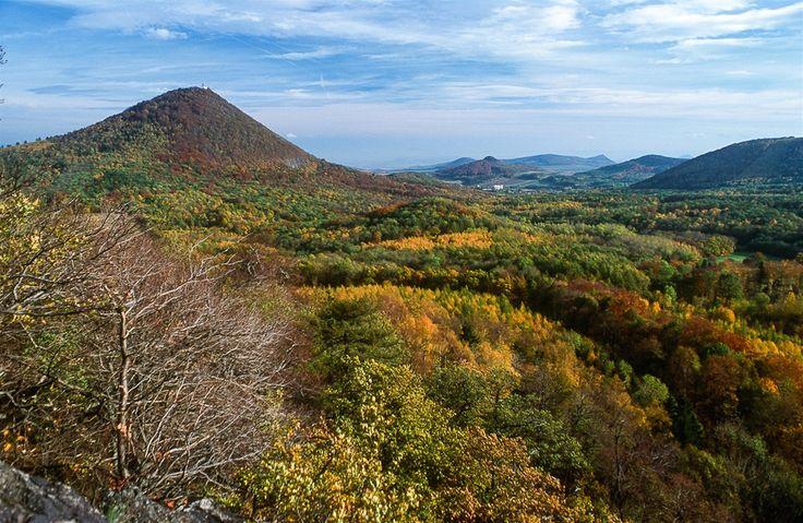 Milešovka mountain, Czech Republic