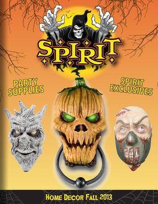 catalog spree spirit halloween home decor 2013 catalog - Halloween Catalogs