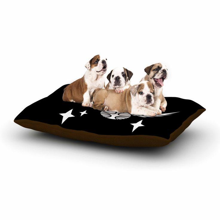 """Jackie Rose """"Golden Snitch"""" Black Fantasy Dog Bed"""