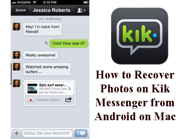 Kik messenger is another way of free messaging with friends and family. Know to recover photos on Kik messenger if you ever lose them.
