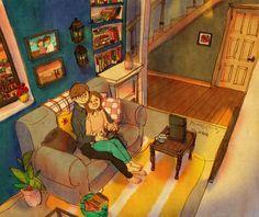 Confira estas novas ilustrações sobre o amor. Você não vai se arrepender.