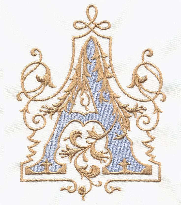 Vintage Royal Alphabet & Accent Designs