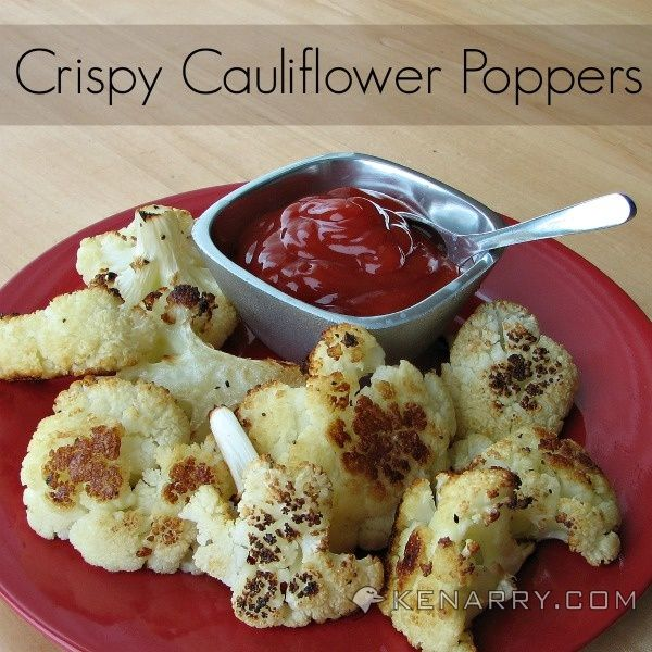 Baked Cauliflower Poppers: A Crispy Low-Carb Side Dish - Kenarry