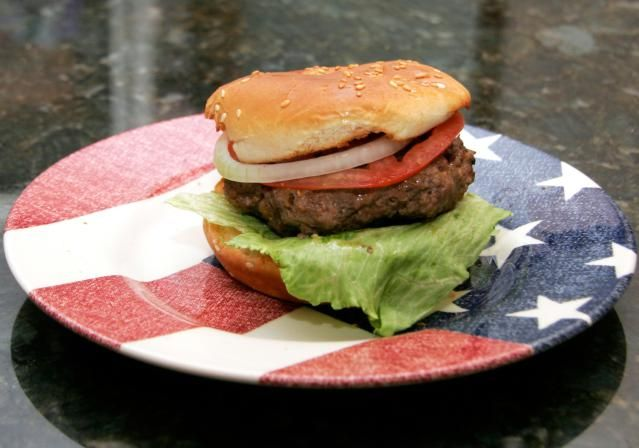 how to make grilled hamburgers juicy