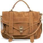 Proenza Schouler PS1 Medium Suede Satchel Bag