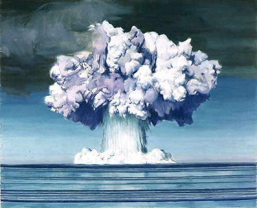 Atomic Bomb Explosion, Sub-Surface Blast by Charles Bittinger