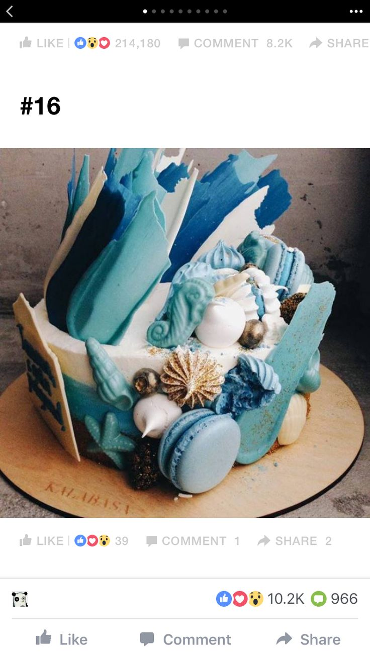 Best Brushstroke Cake Images On Pinterest Cake Designs - Russian bakery uses brushstroke decorations to create the most amazing cakes