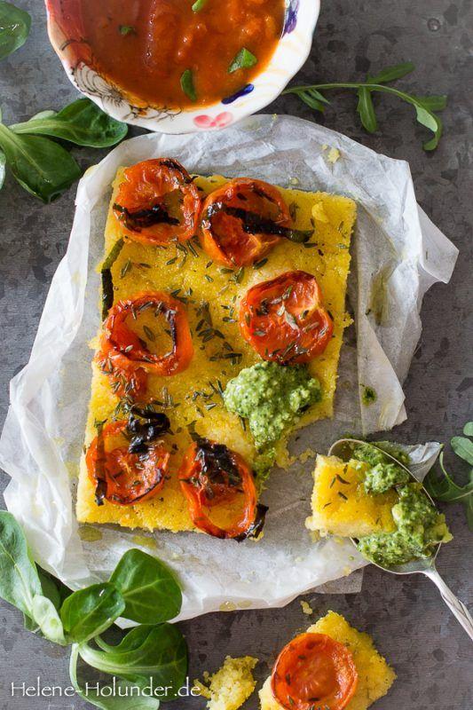 Die besten 25+ Vegan polenta recipes Ideen auf Pinterest Polenta - schnelle vegane k che
