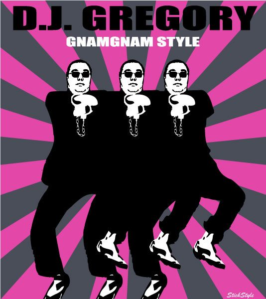 #DJGregory and the #Gnamgnam Style.  This is not a home decoration!